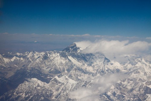 Mount Everest (from the aeroplane window)