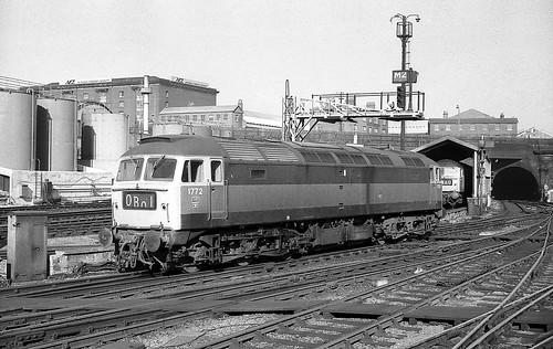 BR Class 47 1772, London Kings Cross.