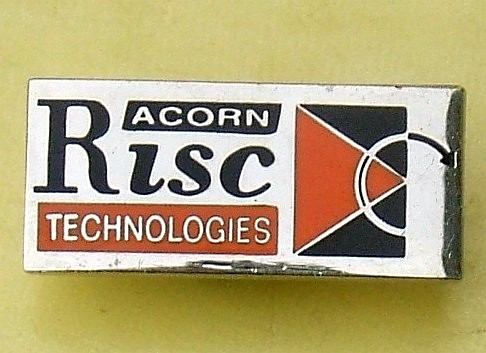 Acorn RISC Technologies (computers) - promotional badge (c.1995)