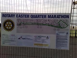 Boscombe Quarter Marathon