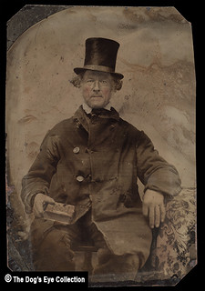 New Hat & An Old Coat Tintype: 1870s
