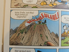 Donald Duck auf Deutsch (something I bought in Frankfurt)