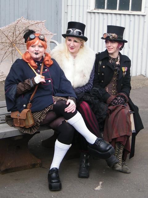 Steampunk maidens