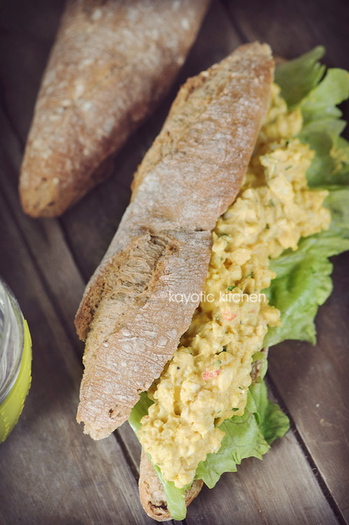 Surinamese Egg Salad
