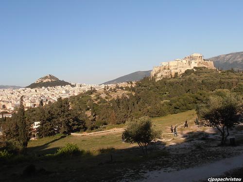 Athens: Lycabettus & Acropolis
