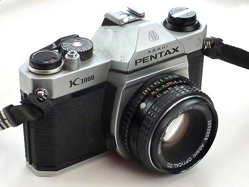 Pentax K1000 by pho-Tony
