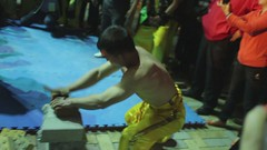 """功夫技高破磚術 Brick-breaking Kungfu Martial Arts"" / 第11屆香港國際武術節 The 11th Hong Kong Wushu International Championship (HKWSJ) / 男運動員 Men in Sports / SML.20130407.EOSM.03794.1080p25"