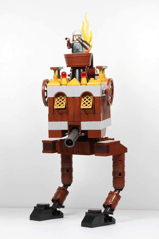 MOC] Steampunk AT-ST - LEGO Star Wars - Eurobricks Forums