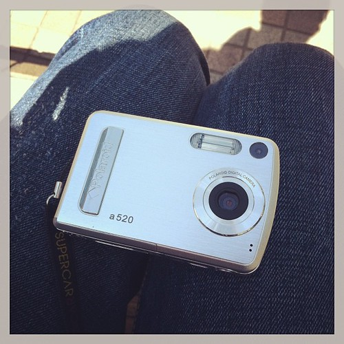 久しぶりトイデジ、Polaroid a520 #instagram