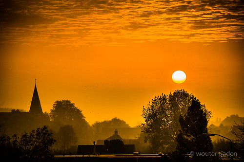 trip morning sky church nature clouds sunrise canon landscape eos town skies village earth photographers hike planet 5d wouter dlsr tjaden tumblr lensblr