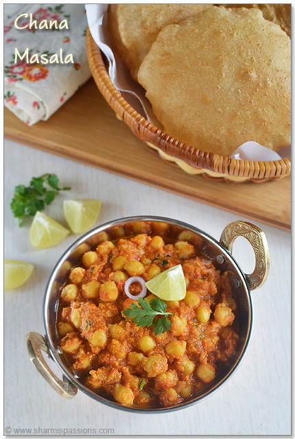 Chole Masala(with coconut)