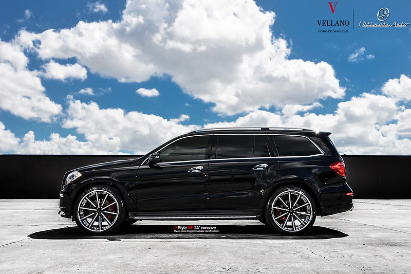Mbz gl550 l vellano wheels vti concave 24 vellano for 24 inch mercedes benz rims