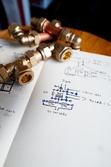 Pipes and circuit diagram