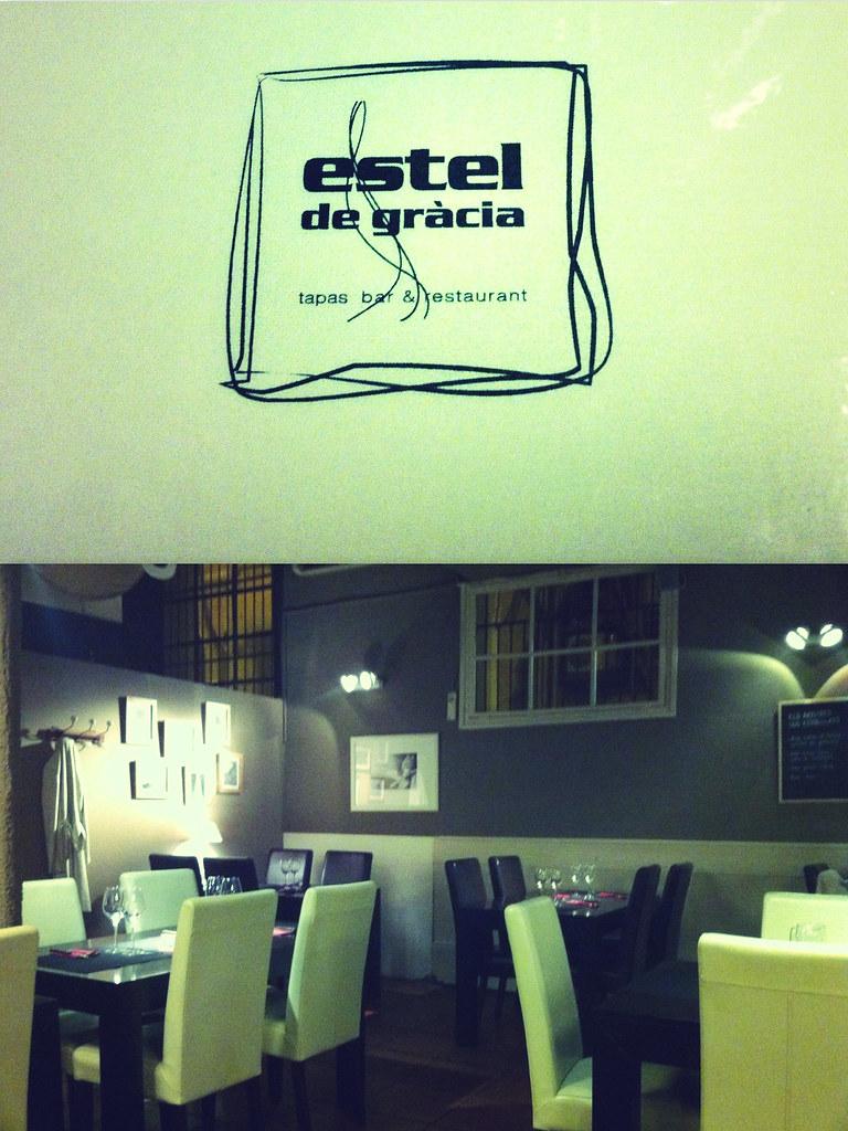 Restaurant L'estel de Gràcia