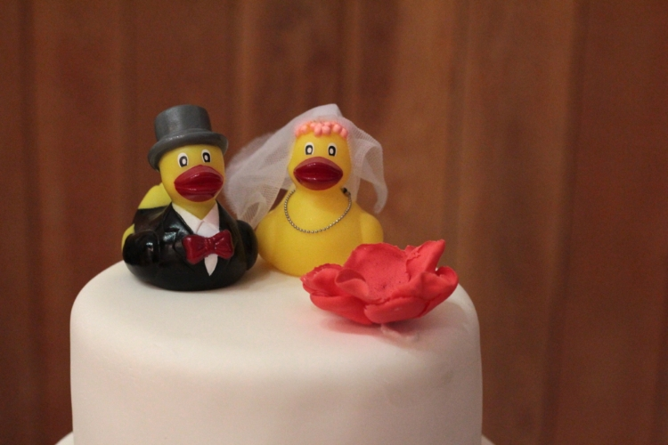 Bride and Groom ducks!