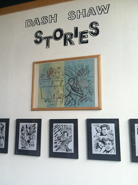 Dash Shaw at the Fantagraphics Bookstore & Gallery