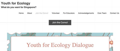 Join the Convo! « Youth for Ecology