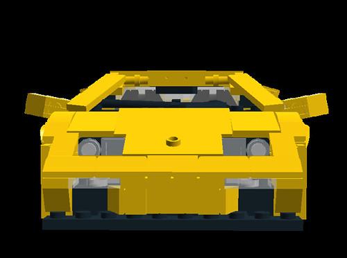 Lamborghini Diablo VT 6.0 front