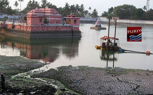 Renovation work of Narendra Puskarini