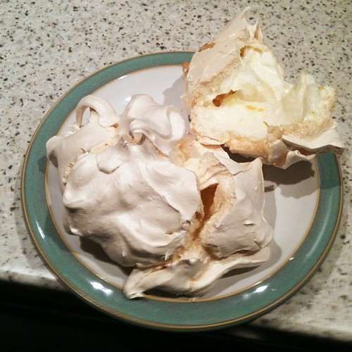 I made #meringues tonight! Yum! @beebee7 @lala_lizzith