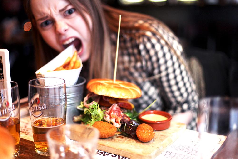 Babes and burger