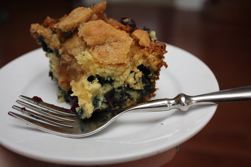 Blueberry Buckle - recipe on the blog today