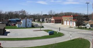 Merrillville west from school building
