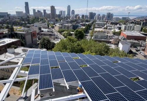 Самое экологичное коммерческое здание мира находится в Сиэтле