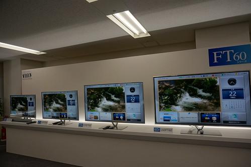 Panasonic VIERA 液晶テレビ FT60シリーズ4機種(60V型、55V型、47V型、42V型)のTH-L60FT60,TH-L55FT60,TH-L47FT60,TH-L42FT60