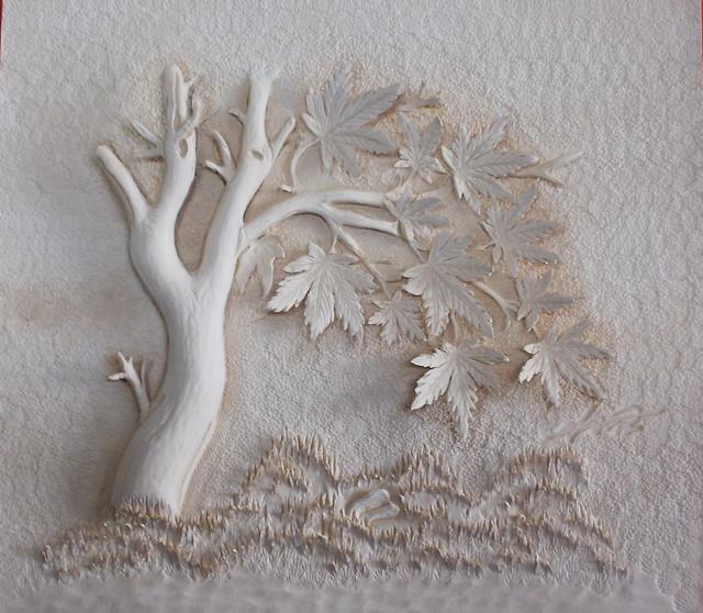 가죽공예 단풍나무 d 카빙 leather craft maple carving flickr