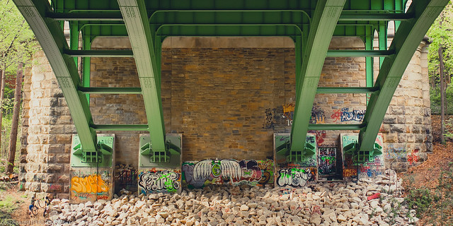 Graffiti Under the Bridge