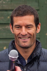 Mark Webber at Aston Clinton Tennis Club