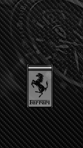 Ferrari Logo WP02 with Chrono Watch