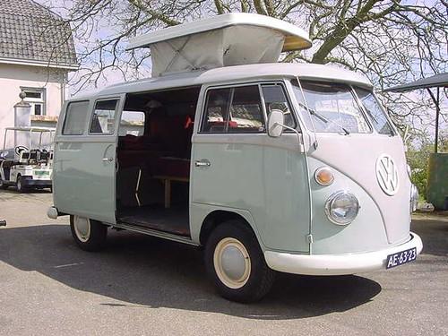 AE-63-23 Volkswagen Transporter SO-42 camper 1964