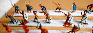 Painted Ancient Britons