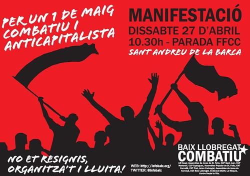 1 Maig Baix Llobregat 2013
