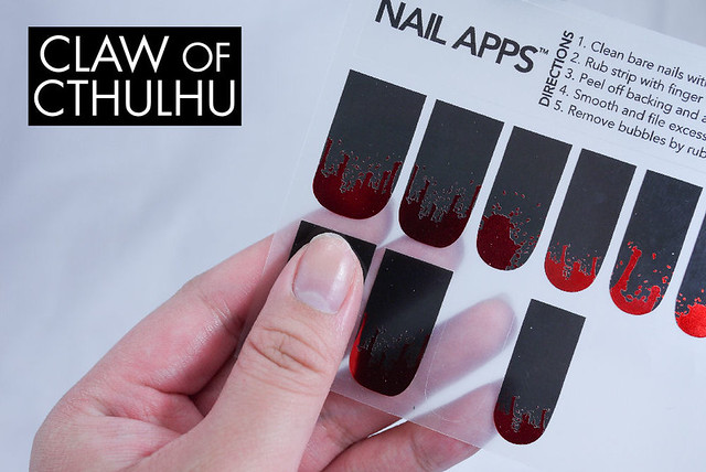 OPI Nail Apps Design Appliques Inferno