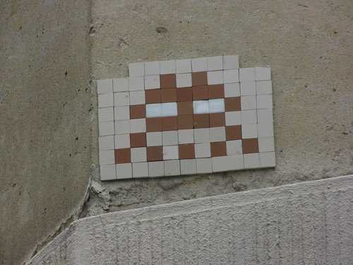 Space Invader PA_077, Paris 6eme