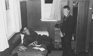 30 - 1966 ACS barracks RNZAF Woodbourne - Brian Coulter & Gary D'Anvers