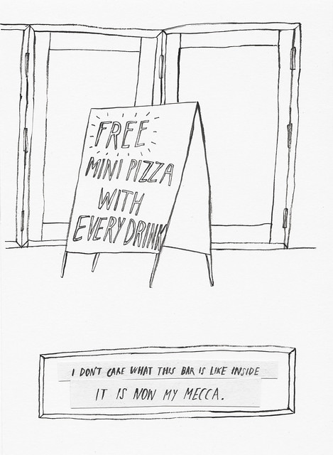 NY Stories - free pizza