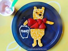 Winnie the Pooh by CreativeKidSnacks.com