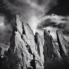 Garden of the Gods. Shot and edited on an iPhone 4S.