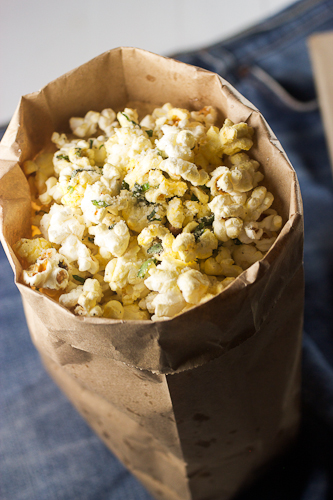 Gene Parmesan Truffle Basil Popcorn