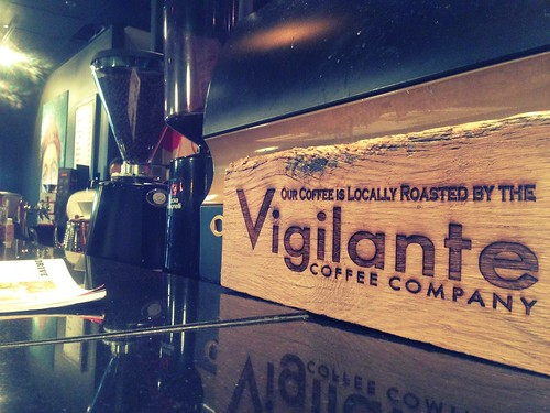 Vigilante Coffee pop-up at Hogo
