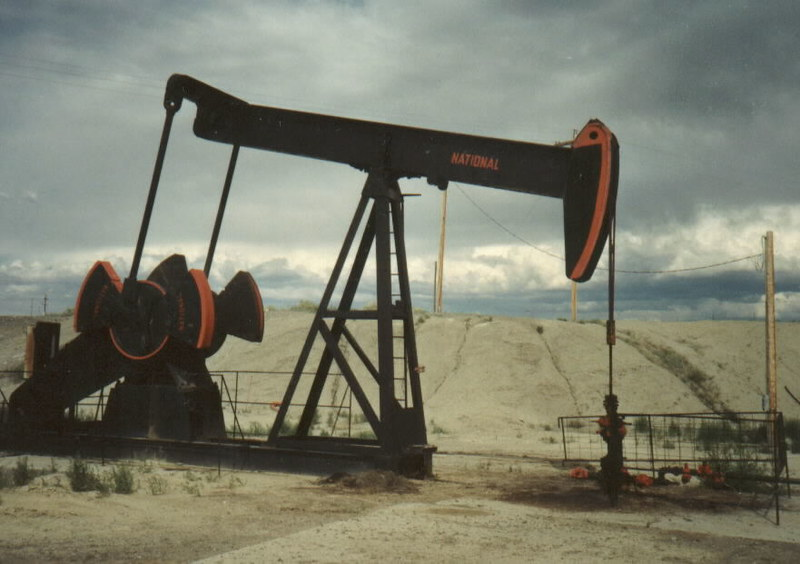 Oil well near Lovell, WY.