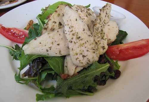 Trattoria Salad with Rosemary Chicken