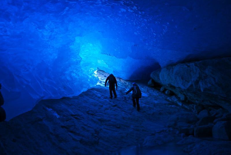 Cave exploring!