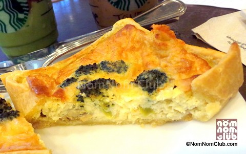 Starbucks Broccoli And Mushroom Quiche