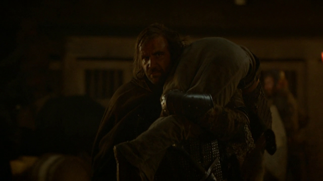 Red Wedding Arya and Hound