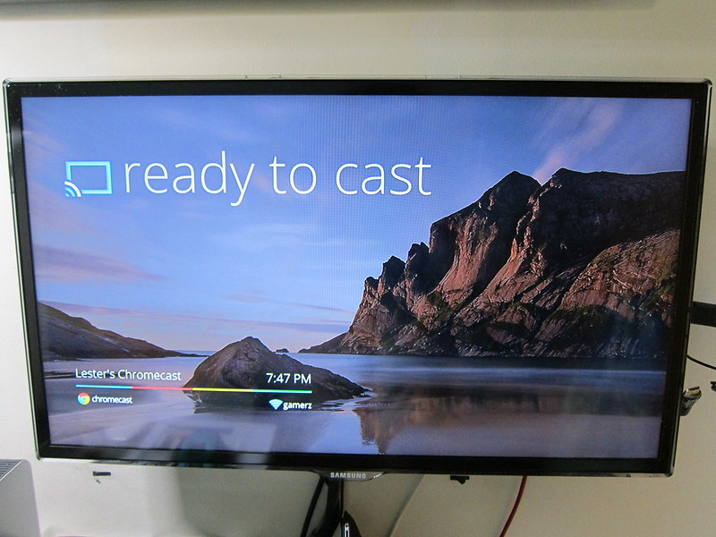 Google Chromecast - Setup Step 6